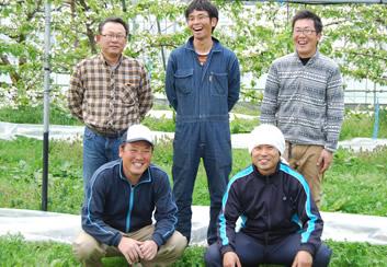 一木森ファームの桃